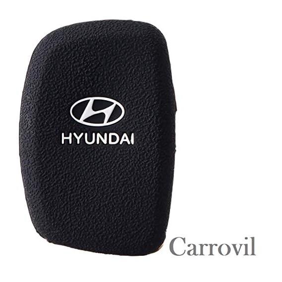 KKRONAS Silicon Key Cover for Hyundai Elite i20 / Creta/Verna (Push Start Key)
