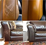 FORTIVO Leather and Vinyl Repair Kit - Furniture, Couch, Car Seats, Sofa, Jacket, Purse, Belt, Automotive, Shoes | Genuine, Italian, Bonded, Bycast, PU, Pleather |No Heat Required | Repair & Restore