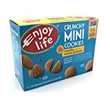 Enjoy Life Crunchy Minis Cookies, Vanilla Honey Graham, Gluten Free 6 Snack Packs (Pack of 6)