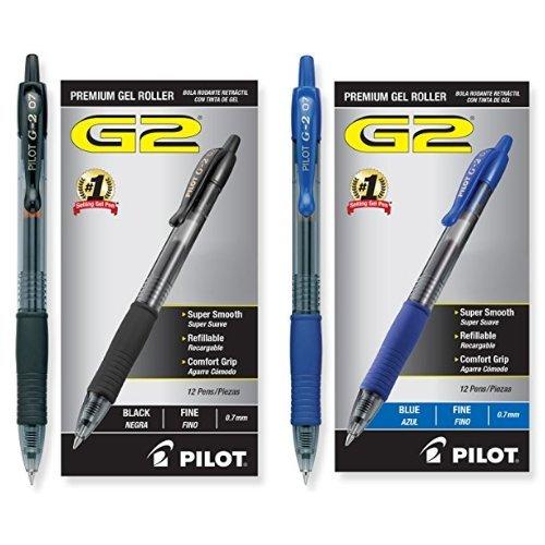 Pilot G2 Retractable Premium Gel Ink Roller Ball Pe [1M8EY7SS]