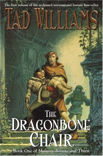 Book cover for The Dragonbone Chair