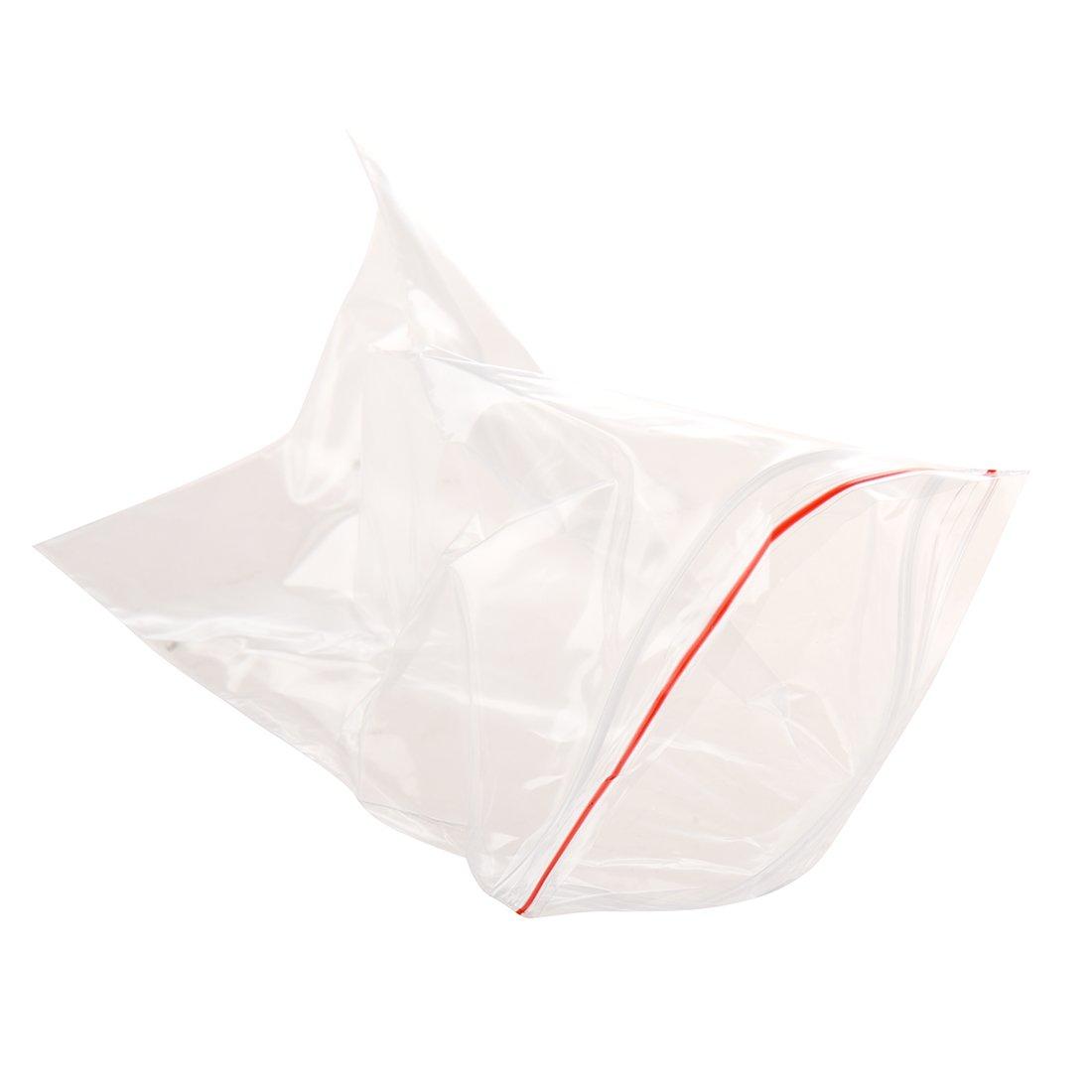 REFURBISHHOUSE 100 pcs de Bolsita Transparente de Plastico con Cierre Bolsa de ziploc 5X7cm