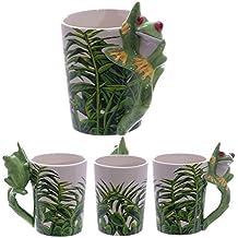 Puckator SMUG23 Mug with Frog Handle, 8 x 11.5 x 13.5 cm
