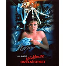 Wes Craven Signed / Autographed A Nightmare On Elm Street Movie Poster 8x10 Glossy Photo. Includes FANEXPO Certificate of Authenticity and Proof. Entertainment Autograph Original.