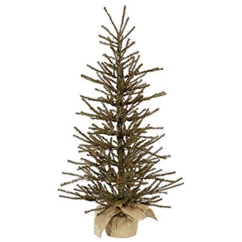 Vickerman Vienna Tabletop Tree, 36-Inch, Twig Brown and Green -