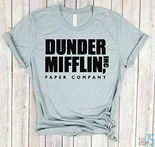 ddcc107b Amazon.com: Dunder Mifflin Paper Company shirt, The Office Tv show tshirt, The  Office t shirt, Dwight Schrute, mens tshirt, men t-shirt: Handmade