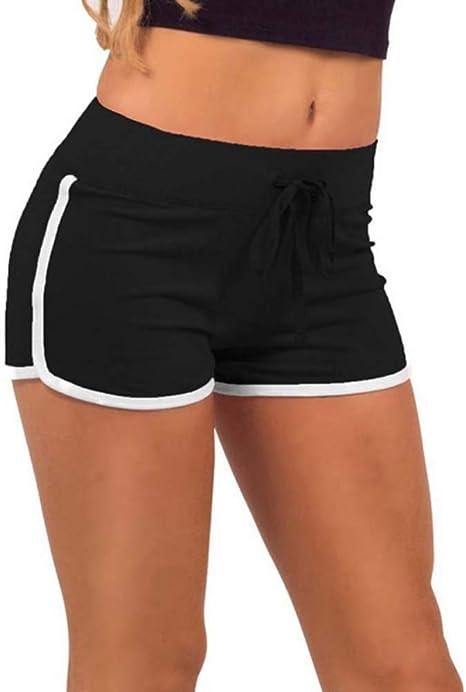 NSDKFF Pantalones Cortos De Mujer Las Mujeres Shorts Shorts ...