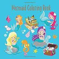 Mermaid Coloring Book: Kids Coloring. Gorgeous