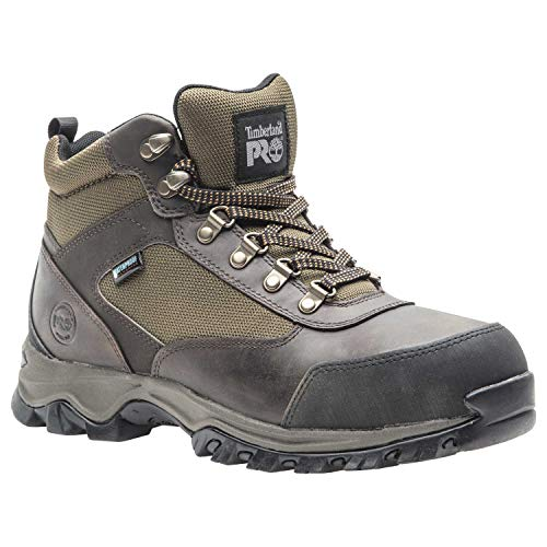 Timberland PRO Men's Keele Ridge Steel Toe Waterproof Industrial Boot, Brown, 13 M US