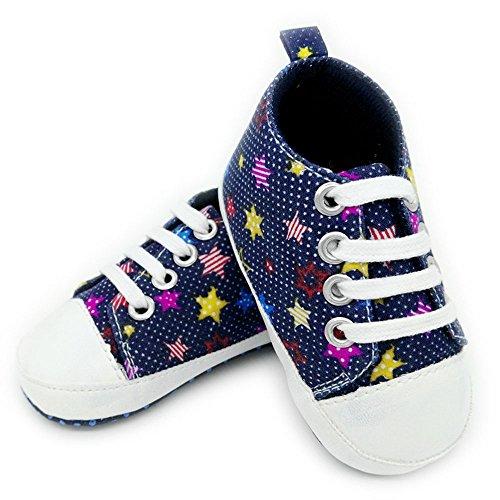 Yulan Baby Winter Baumwolle Cute Cartoon Weiche Unterseite dicker Schnürschuh Schuhe für 0