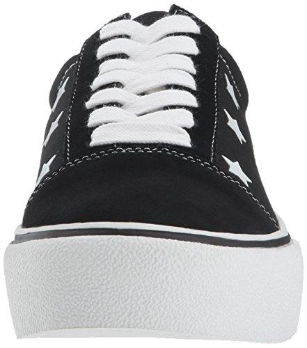 M Us Suede Sneaker Emile Steve Black Women's Madden 6 wzgT04qx