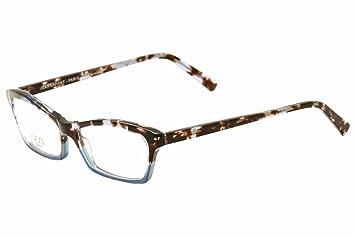 Amazon.com: Lafont Paris Women\'s Eyeglasses Nuance 341 Blue/Brown ...