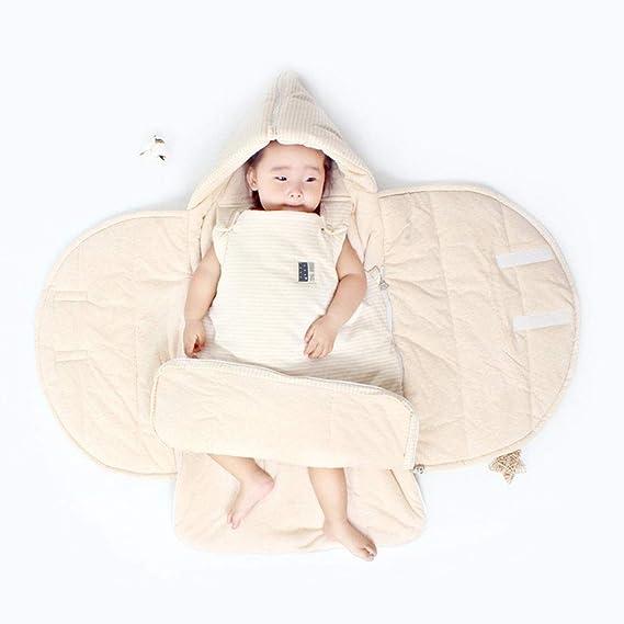 CHENYU - Saco de Dormir para bebé, Manta para Saco de Dormir, Manta para recién Nacido, bebé, niña, Saco de Dormir, Sacos de Dormir, Verde, ...