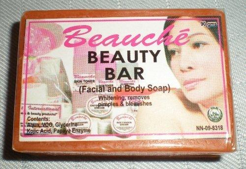 Beauchè Beauty Bar Kojic Acid and Papaya Whitening Soap 90g (Best Kojic Acid Soap Philippines)