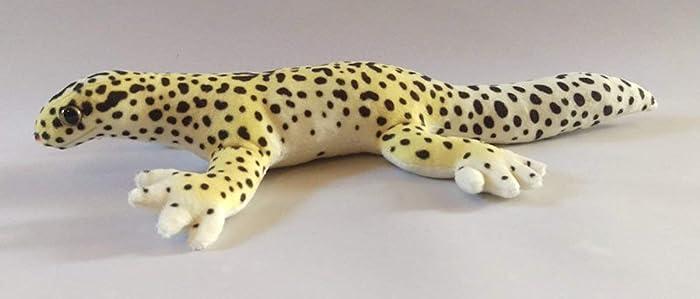Leopard Gecko Plushie - Wild Type Markings: Amazon co uk: Handmade