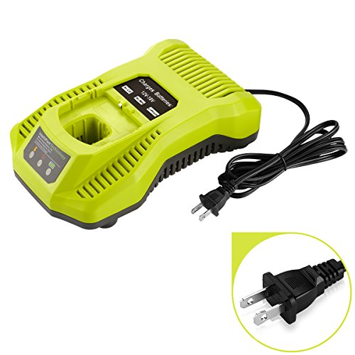 Powilling P117 Dual Chemistry IntelliPort Charger Li-ion & Ni-cad Ni-Mh Battery Charger 12V MAX and 18V MAX For Ryobi ONE Plus by Powilling (Image #3)