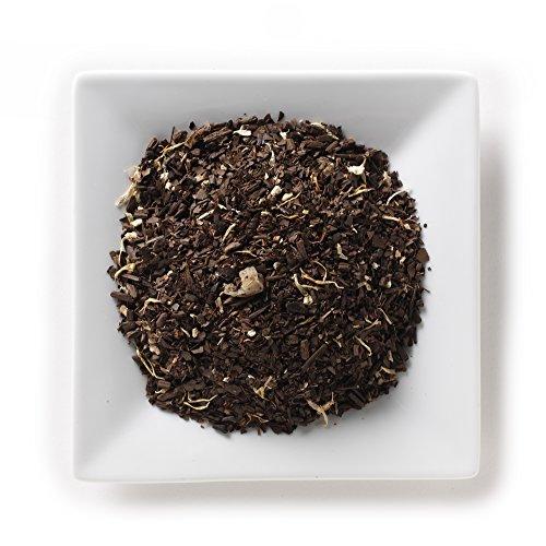 Mahamosa Mango Mate Tea 2 oz - Loose Leaf Yerba Mate Herbal Tea Blend (with roasted mate, rooibos, marigold, mango pieces, ginseng root and mango and passion fruit flavor)