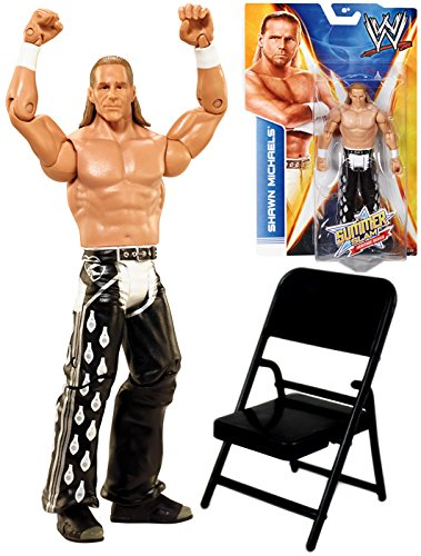 WWE Shawn Michaels Summer Slam Heritage Series 2014 Toy Action Figure Mattel