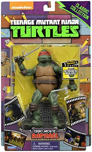 Teenage Mutant Ninja Turtles Classic Collection Original Movie Raphael Action Figure
