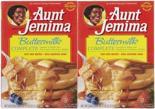 (Aunt Jemima Buttermilk Complete Pancake Mix - 32 oz - 2 pk)