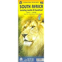 South Africa Travel Map (WP): 1:1,500,000