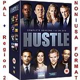 Hustle - Complete Series 1-8 Collection [NON-U.S.A. FORMAT: PAL + REGION 2 + U.K. IMPORT] (BBC) (Season 1/2/3/4/5/6/7/8)