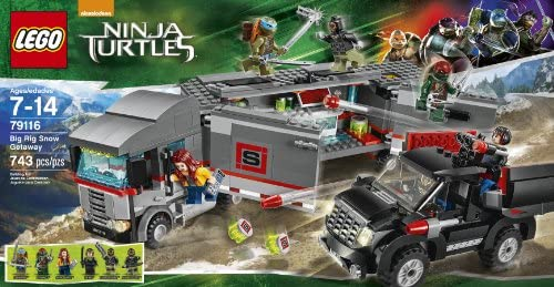 LEGO Teenage Mutant Ninja Turtles Big Rig Snow Getaway [743 ...