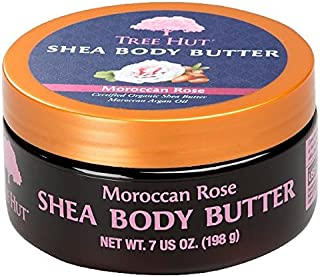 product image for Tree Hut Shea Body Butter, Moroccan Rose, 7 Ounce (Pack of 3)