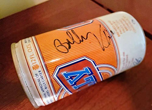 (BILLY CARTER JSA COA Hand Signed Billy Beer Can Autograph Authenticated)