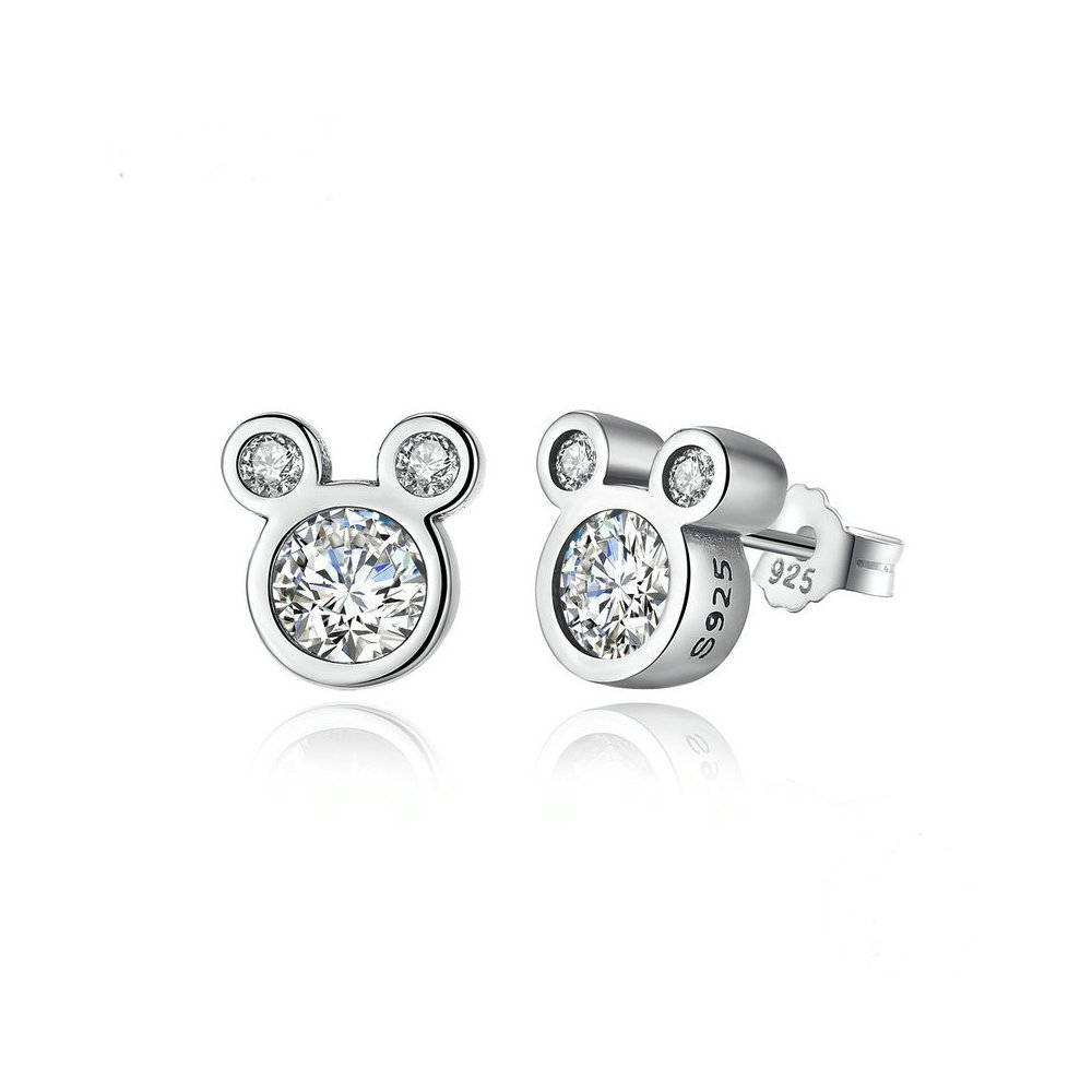 Mall of Style Mickey Mouse Earrings for Women & Girls - Character Studs (Mickey)