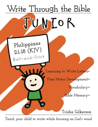 Write Through the Bible, Junior: Philippians 2:1-18 KJV, Ball-and-Stick