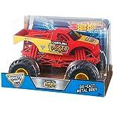 Hot Wheels Carolina crusher Monster Jam 1:24 Megalodon Vehicle