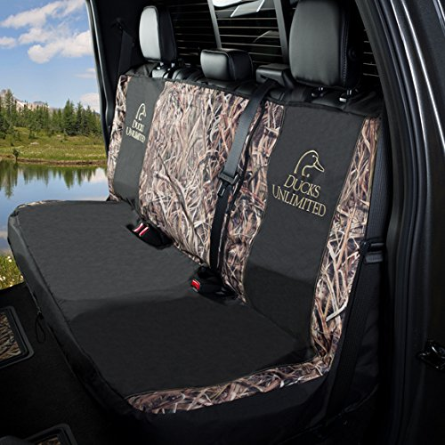 Ducks Unlimited Seat Covers >> Ducks Unlimited Mid Size Camo Bench Seat Cover Mossy Oak