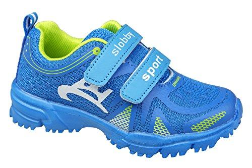 gibra - Zapatillas de Material Sintético para niño Azul