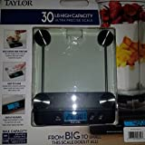 Taylor 30 Pound High Capacity Ultra Precise Kitchen Scale