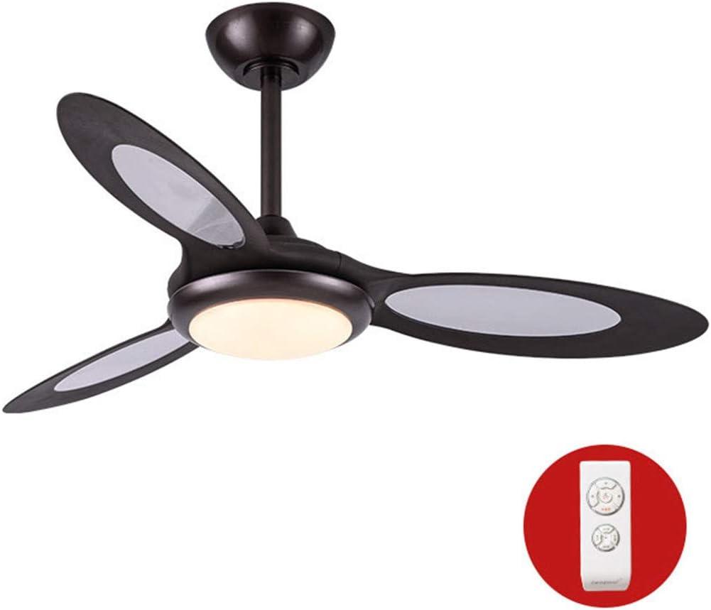NINEONE Ventilador de Techo Luz con Control Remoto Luz LED ...