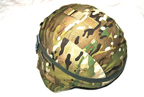 Genuine Us Military Ach Mich Helmet With Multicam Cover - Medium by Ach