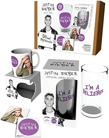 GB Eye LTD, Justin Bieber, Green Jacket, Caja para Regalos: Amazon ...