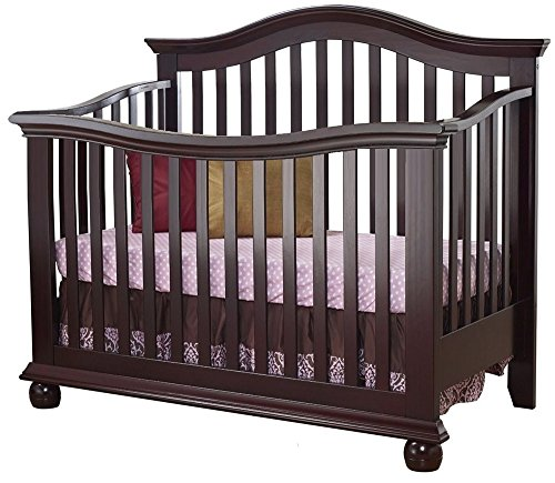 Sorelle Vista Couture 4-In-1 Convertible Crib - Espresso