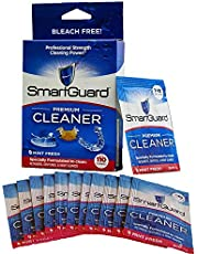 SmartGuard Premium Cleaner Crystals –(110 Cleanings)- Removes Stain, Plaque & Bad Odor from Dentures, Clear Braces, Mouth Guard, Night Guard & Retainers.