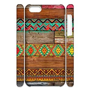 Colorful Wood Texture Hard Customized 3D Case for Iphone 5C, 3D New Printed Colorful Wood Texture Hard Case