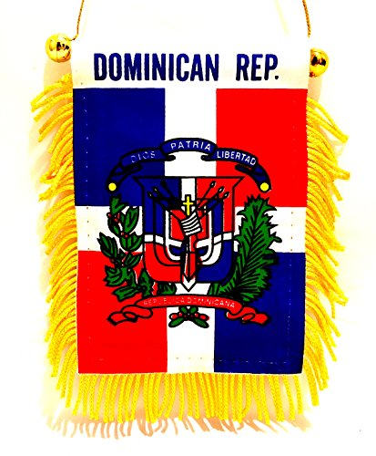 Dominican Republic Car - Dominican Republic car flag