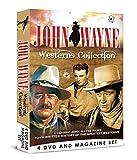 John Wayne Westerns Collection - 4 DVD & Bookazine BOXSET