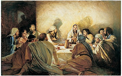 Decor Last Supper Jesus Christ Movie Poster Custom