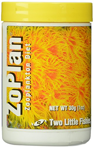 Two Little Fishies Atlzp4 Zoplan Phytoplankton Diet, 1-Ounce (Best Food For Zoanthids)