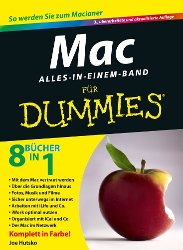 Mac Alles-in-einem-Band für Dummies (German Edition)