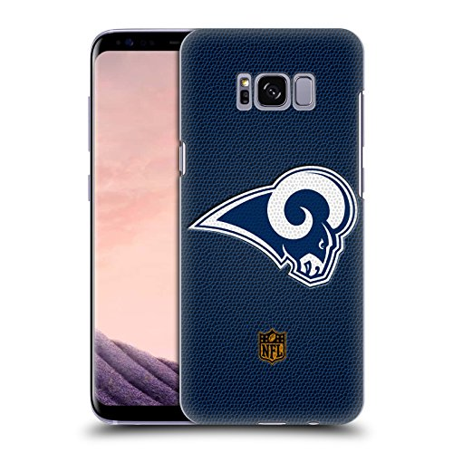 Official NFL Football Los Angeles Rams Logo Hard Back Case for Samsung Galaxy S8 by Head Case Designs