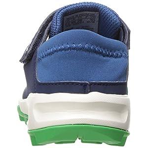 adidas Outdoor Kids' Terrex Tivid Shandal CF Water Shoe Sandal, Core Blue/Col. Navy/Energy Green, 11.5 M US Little Kid