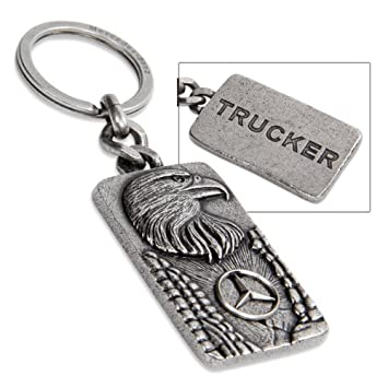 Amazon.com: Auténtica Mercedes Benz Eagle clave Anillo ...