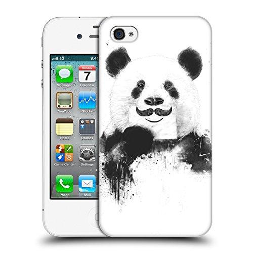 Officiel Balázs Solti Panda Drôle Animaux Étui Coque D'Arrière Rigide Pour Apple iPhone 4 / 4S